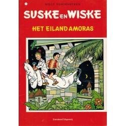 Suske & Wiske A5 reclamealbum De trotse tabloid 02 Het eiland Amoras 1e druk 2007