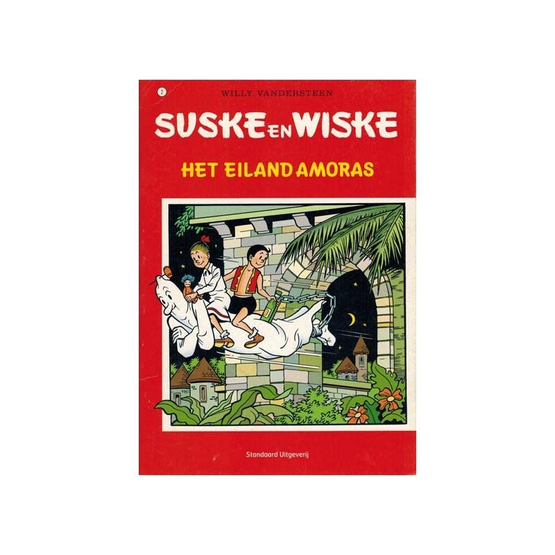 Suske & Wiske reclamealbum A5 De trotse tabloid 02 Het eiland Amoras 1e druk 2007
