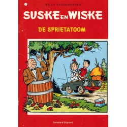Suske & Wiske A5 reclamealbum De trotse tabloid 03 De sprietatoom 1e druk 2007