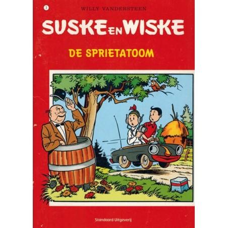 Suske & Wiske reclamealbum A5 De trotse tabloid 03 De sprietatoom 1e druk 2007