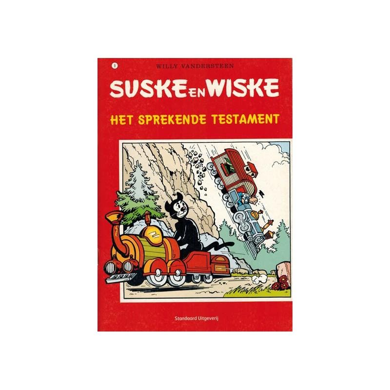 Suske & Wiske reclamealbum A5 De trotse tabloid 09 Het sprekende testamentr 1e druk 2007