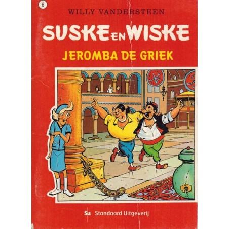 Suske & Wiske reclamealbum mini 06% Jeromba de Griek 1e druk 2003