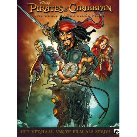 Pirates of the Caribbean 04 The curse of the Black Pearl Het verhaal van de film als strip