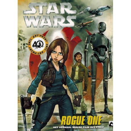 Star wars  NL manga Filmstrip 08 Rogue One