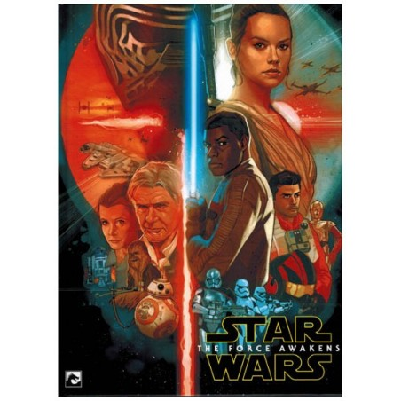 Star Wars  NL Filmstrip HC 07 The force awakens