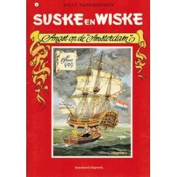 Suske & Wiske A5 reclamealbum De trotse tabloid 08 Angst op de Amsterdam 1e druk 2007