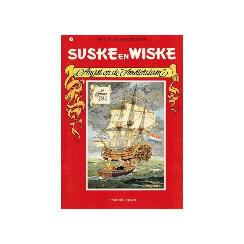 Suske & Wiske reclamealbum A5 De trotse tabloid 08 Angst op de Amsterdam 1e druk 2007