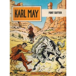 Karl May 24 Fort Sutter 1e druk 1969