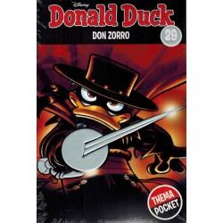 Donald Duck  Dubbel pocket Extra 29 Don Zorro