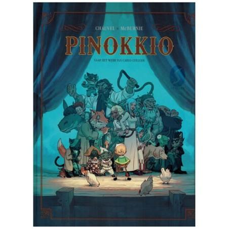 Pinokkio HC Naar het werk van Carlo Collodi