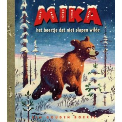 Gouden boekje HC Mika Het beertje dat niet slapen wilde