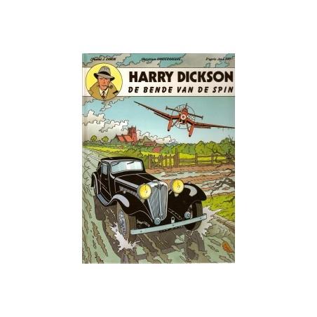 Harry Dickson  01 HC De bende van de spin