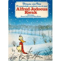 Alfred Jodocus Kwak 01 De wonderlijke avonturen van een eend 1e druk Loempia 1987
