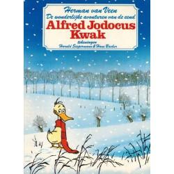 Alfred Jodocus Kwak 01 De wonderlijke avonturen van een eend 1e druk Harlekijn 1987