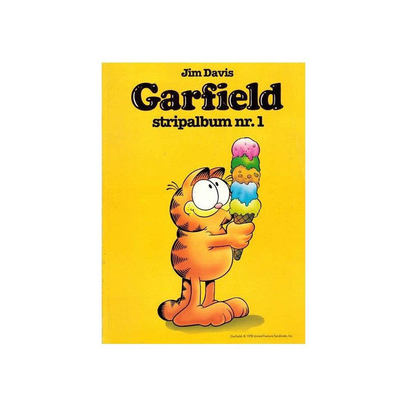 Garfield stripalbum 01% (voor Hema) 1987