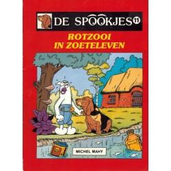 Spookjes 11 Rotzooi in Zoeteleven 1e druk 1988
