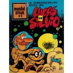 Mondial album 02 De wonderbaarlijke reizen van Lucas en Silvio