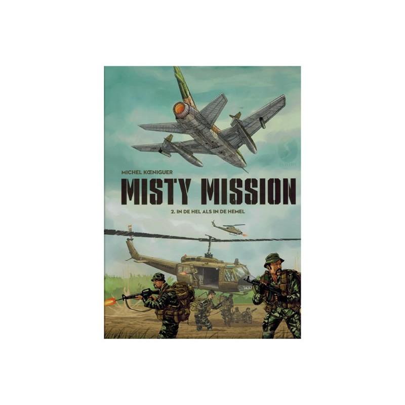 Misty mission  02 HC In de hel als in de hemel