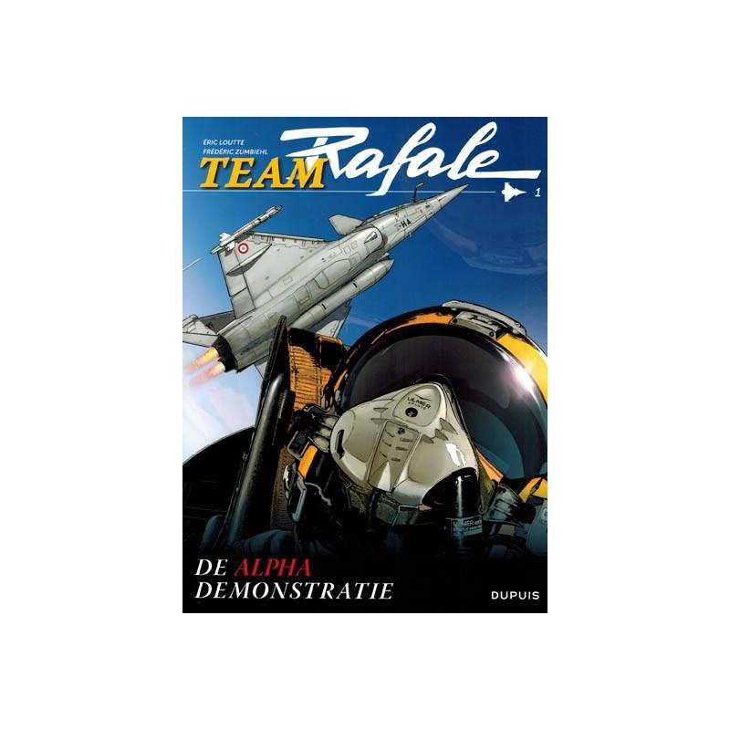 Team Rafale 01 De alpha demonstratie
