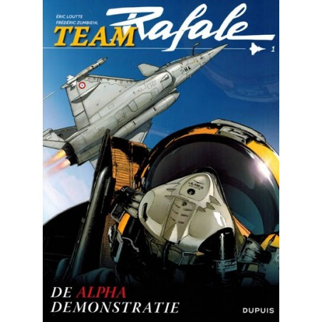 Team Rafale 01 De alpha demonstratie