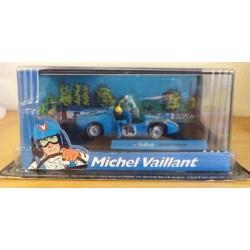 Michel Vaillant autootje Sport-proto (blauwe nr. 14 + 2 poppetjes)