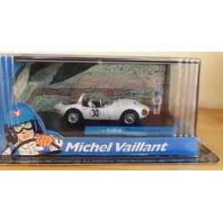 Michel Vaillant autootje Panamericana (witte nr. 30 + 2 poppetjes)