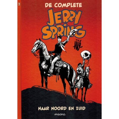 Jerry Spring  Integraal 02 HC Naar Noord en Zuid