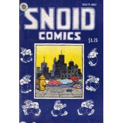 Snoid comics 01 First printing 1980