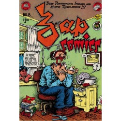 Zap comics 08 First printing 1975