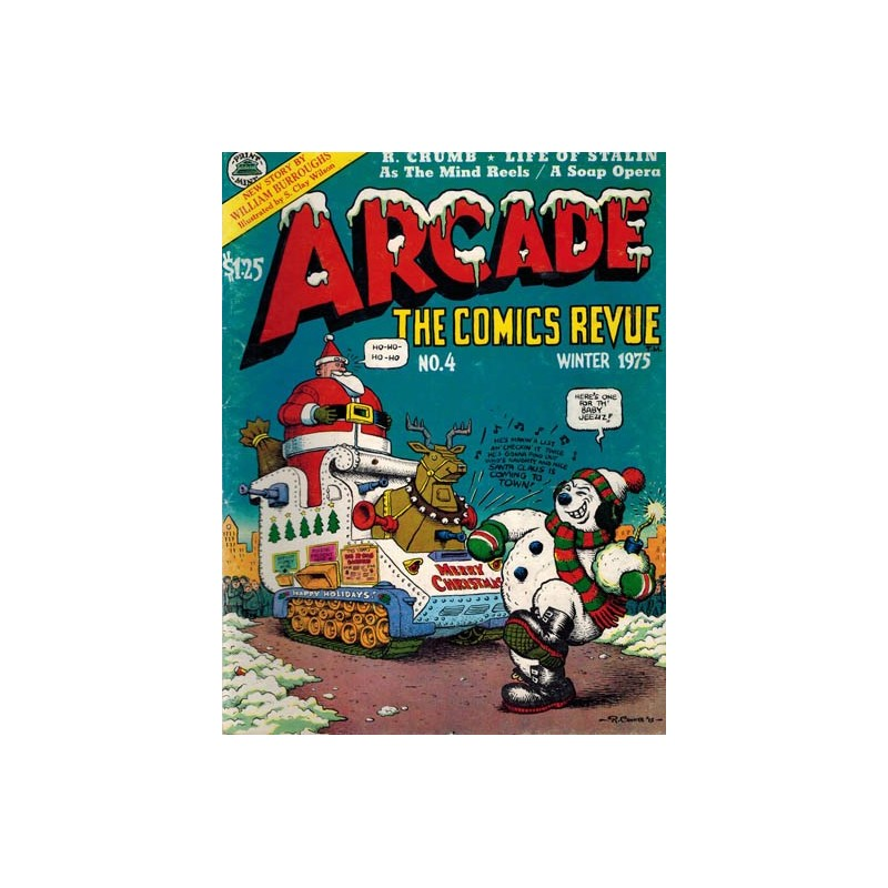 Arcade The comics revue No. 4 first printing 1975