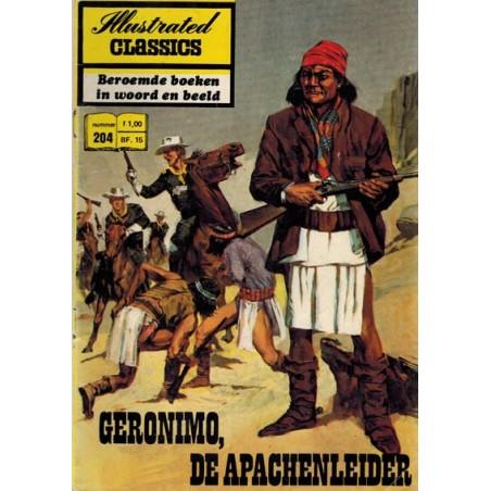 Illustrated Classics 204 Geronimo, de Apachenleider 1e druk 1973
