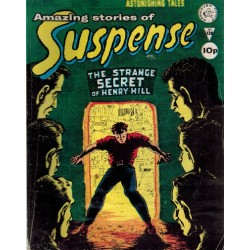 Amazing stories of suspense 138 The strange secret of Henry Hill First priting