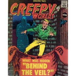 Creepy worlds 147 What was hidden 'behind the veil?' First printing