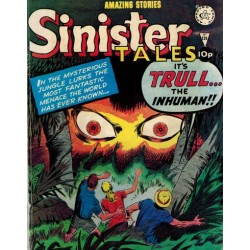 Sinister tales 131 It's Trull... The inhuman!! First printing