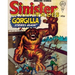 Sinister tales 129 Gorgilla strikes again! First printing