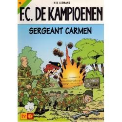 F.C. De Kampioenen 25 Sergeant Carmen herdruk