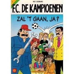 F.C. De Kampioenen 01 Zal 't gaan, ja? 1e druk 1997