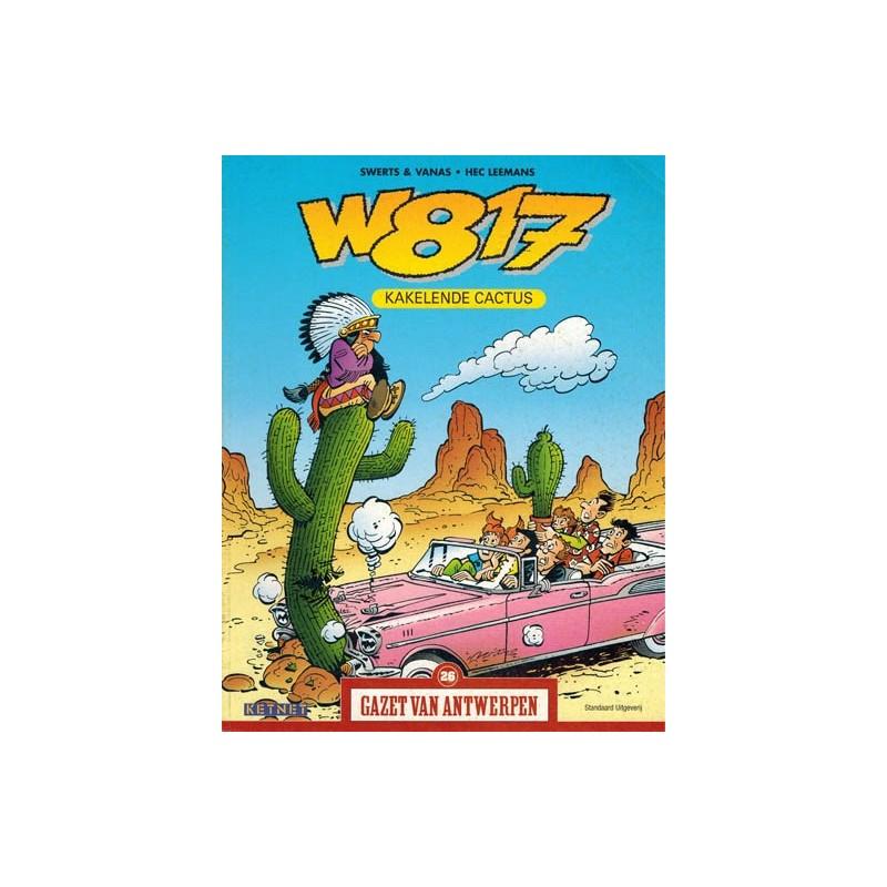 Gazet van Antwerpen reclame-album 26 W817 (Wacht eens even) kakelende cactus 1e druk 2004