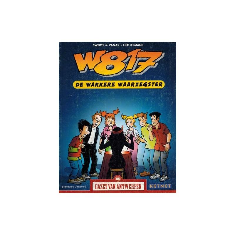 Gazet van Antwerpen reclame-album 86 W817 (Wacht eens even) De wakkere waarzegster 1e druk 2005