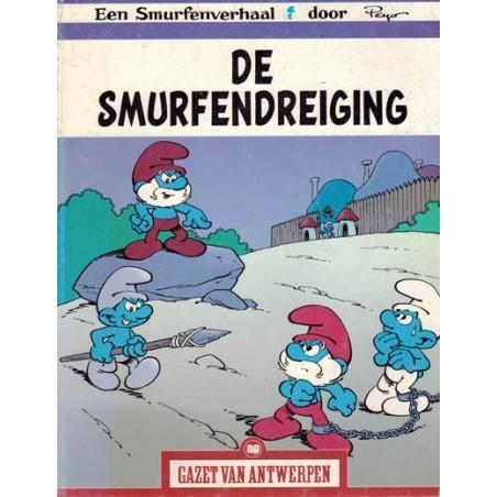 Gazet van Antwerpen reclame-album 80 De smurfendreiging 1e druk 2005
