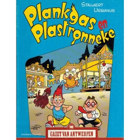 Gazet van Antwerpen reclame-album 99 Plankgas en Plastronneke 1e druk 2006