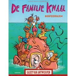 Gazet van Antwerpen reclame-album 79 De familie Kwaal Kopzorgen 1e druk 2005