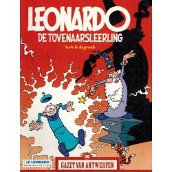 Gazet van Antwerpen reclame-album 30 Leonardo De tovenaarsleerling 1e druk 2004