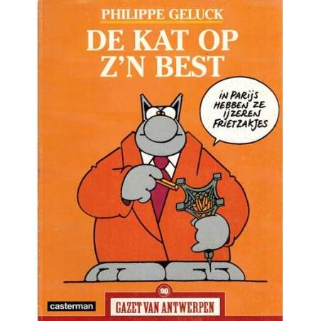 Gazet van Antwerpen reclame-album 90 De kat op z'n best 1e druk 2005