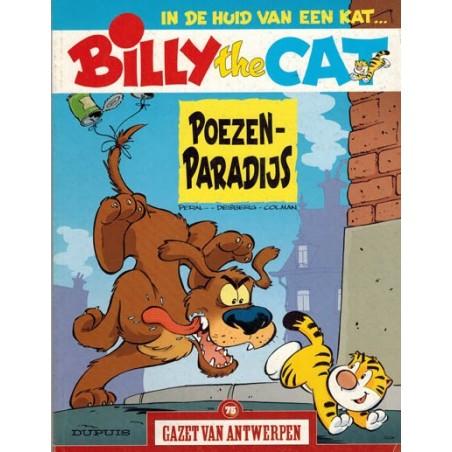 Gazet van Antwerpen reclame-album 75 Billy the Cat Poezenparadijs 1e druk 2005