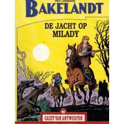 Gazet van Antwerpen reclame-album 82 Bakelandt De jacht op Milady 1e druk 2005
