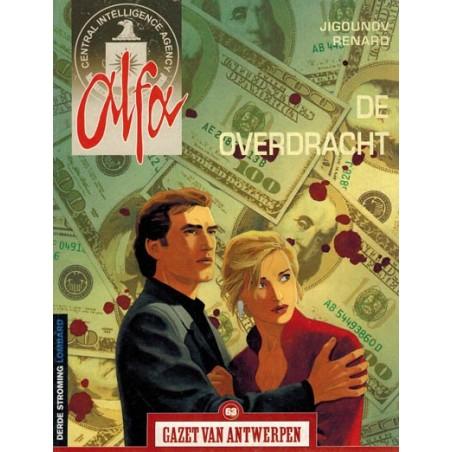 Gazet van Antwerpen reclame-album 63 Alfa De overdracht 1e druk 2005