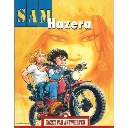 Gazet van Antwerpen reclame-album 18 Sam Hazera 1e druk 2004