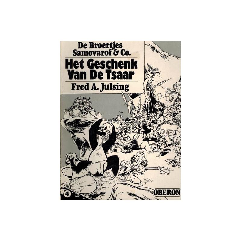 Broertjes Samovarof & Co. set 1e drukken 1976-1977