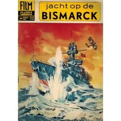 Film classics 503 Jacht op de Bismarck 1e druk 1962